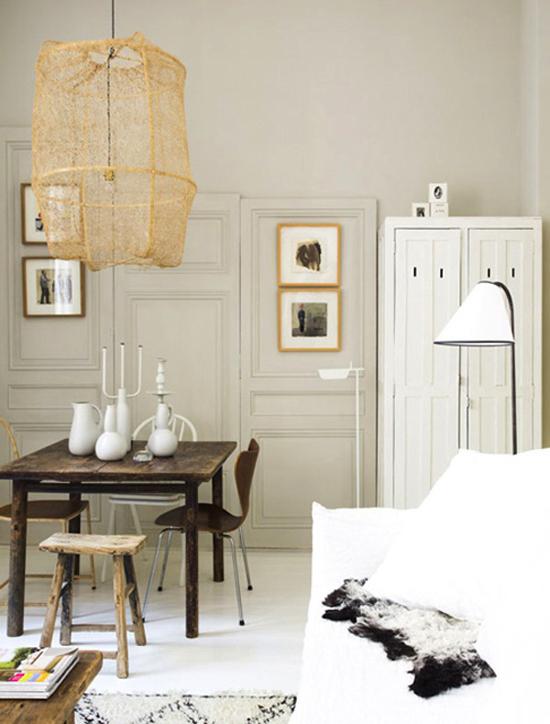 Een kleine appartement in lyon wooninspiratie - Decoratie klein appartement ...