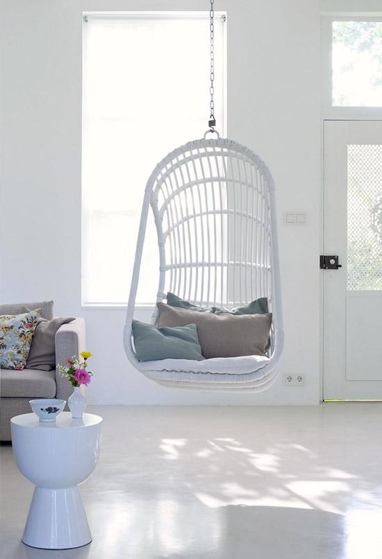 Een ode aan de hangende stoel | Wooninspiratie
