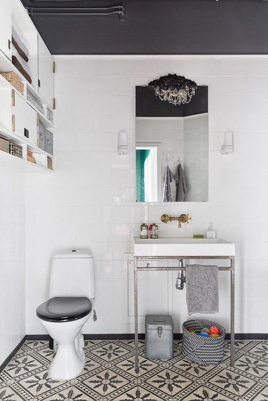 Een prachtige badkamer in Malmö!