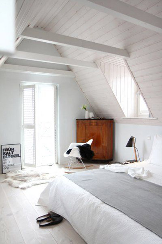 een zolderslaapkamer wooninspiratie. Black Bedroom Furniture Sets. Home Design Ideas