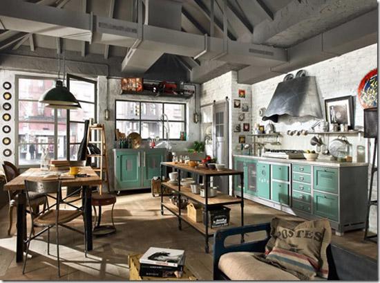 Industriele Keuken Ikea : een keuken die je niet alledaags tegenkomt, en dat maakt deze keuken