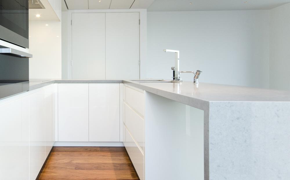 Werkbladen keuken graniet