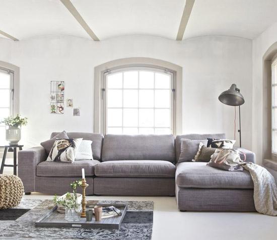 Hoekbank voor de woonkamer | Wooninspiratie
