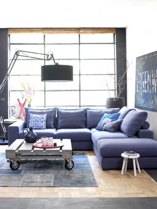 hoekbank voor kleine woonkamer | wooninspiratie, Deco ideeën