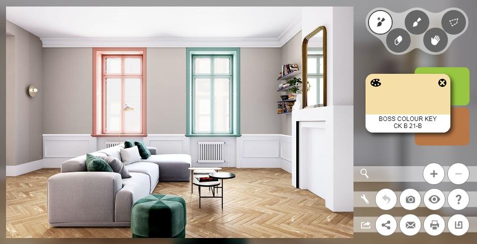 Huis inrichten tools colora kleurtool
