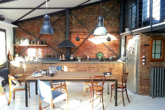 Industri le keuken wooninspiratie - Keuken industriele loft ...