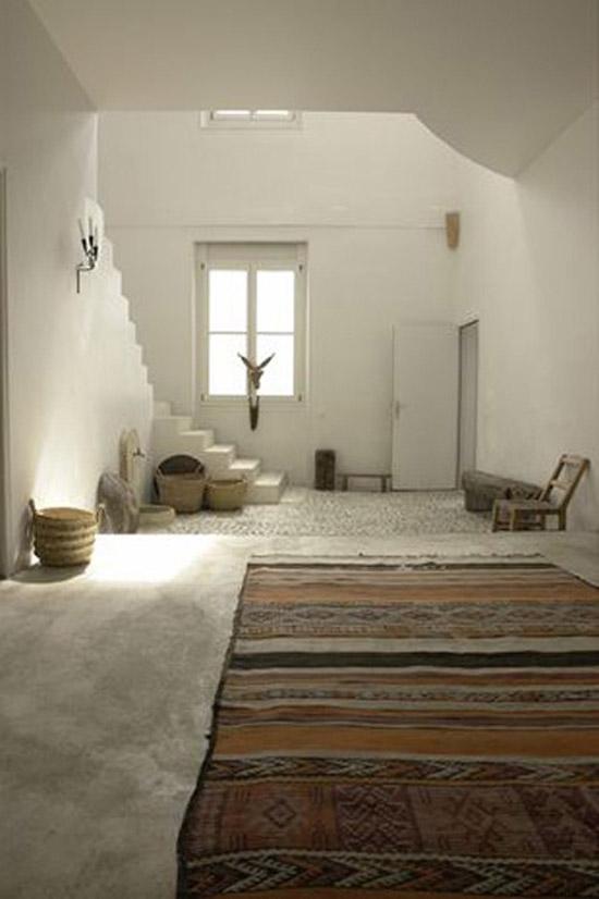 Kelim vloerkleed in huis : Wooninspiratie