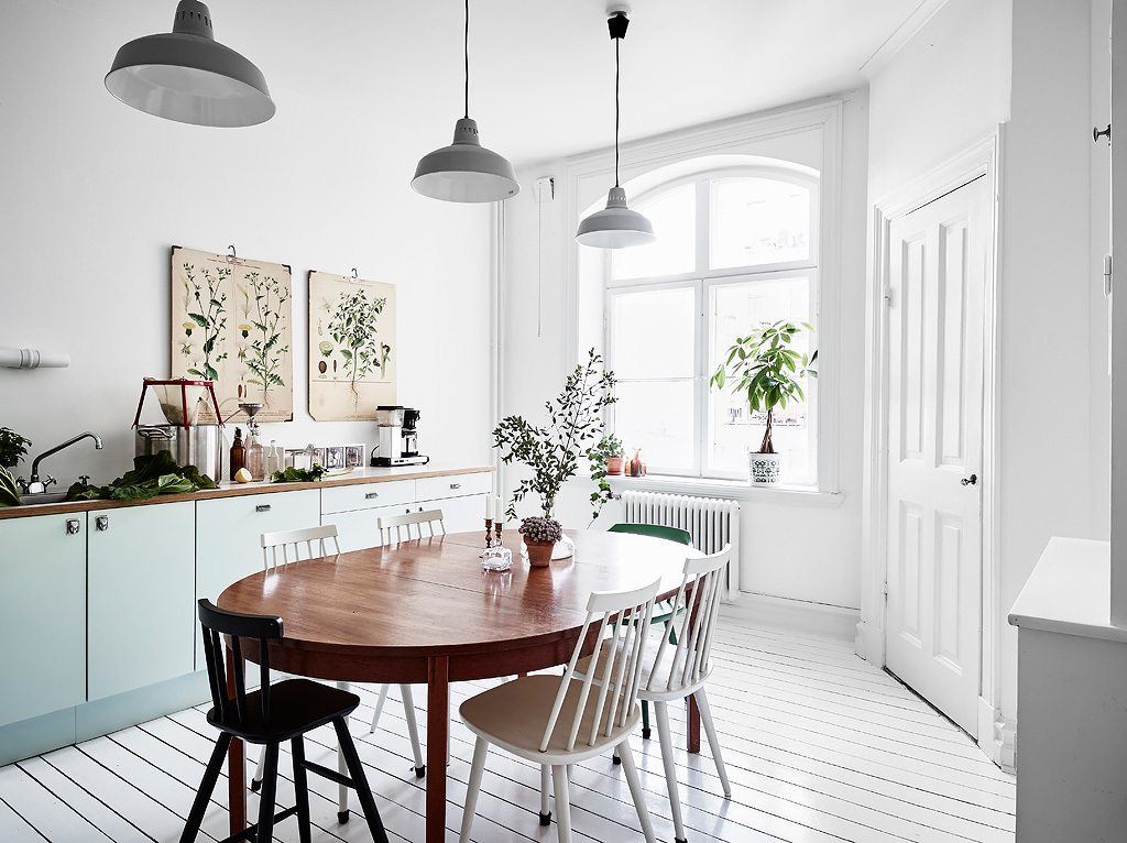 Keuken ideeën planten in keuken
