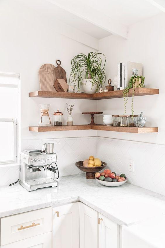 Keuken ideeën wandplanken