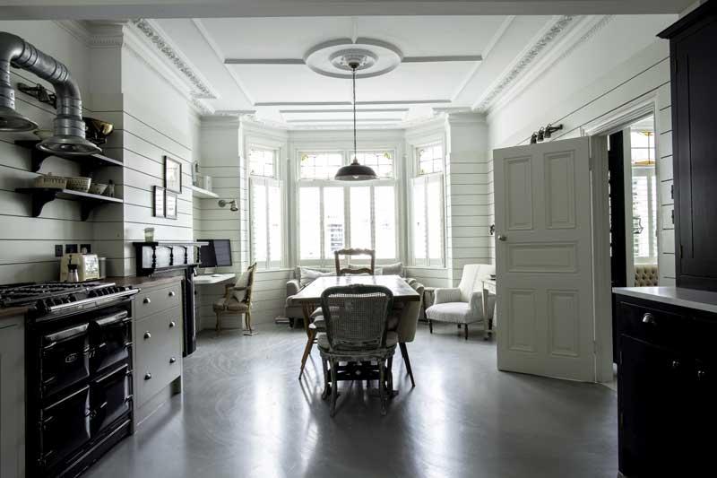 Keuken ideeën woonkamer bureau