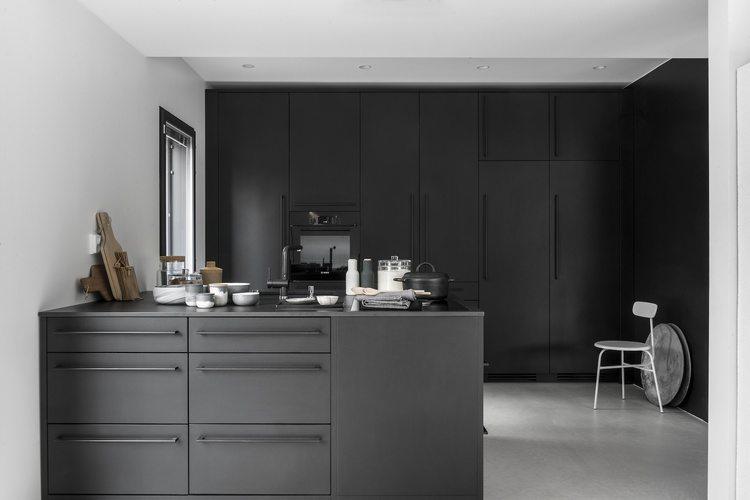 Keuken ideeën zwarte keuken