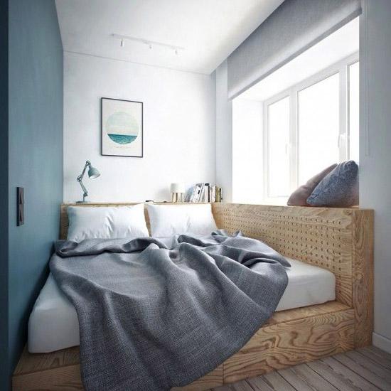 Kleine knusse slaapkamer  Wooninspiratie