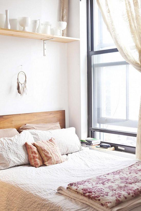 een kleine slaapkamer kun je op heel veel verschillende manieren en ...