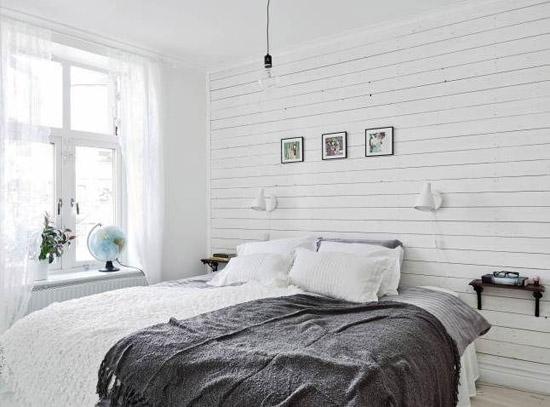 Kleine knusse slaapkamer wooninspiratie - Inrichten van een kleine volwassene slaapkamer ...
