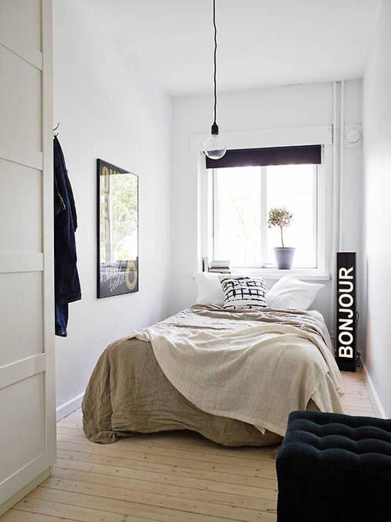 voorbeelden van kleine knusse slaapkamer | wooninspiratie, Deco ideeën