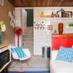 Kleurige woonkamer van Mauricio Arruda