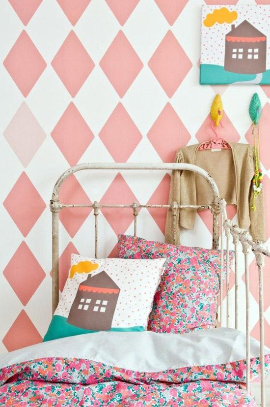 Leuk behang voor de kinderkamer  Wooninspiratie
