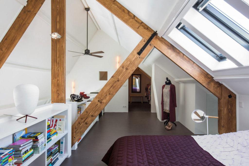 Linoleum slaapkamer