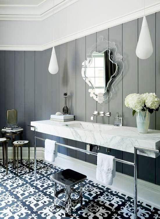 Mooie marokkaanse badkamers wooninspiratie - Mooie moderne badkamer ...