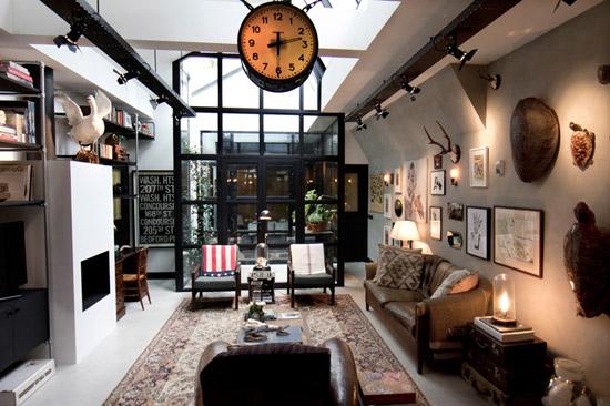 Mooie garage loft in Amsterdam
