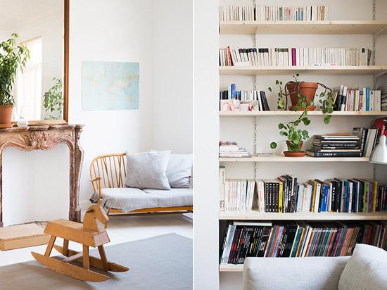 Mooie inrichting van een meubelmaakster  Wooninspiratie