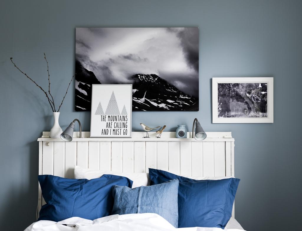 Blauwe muurverf Oval room blue Farrow & Ball