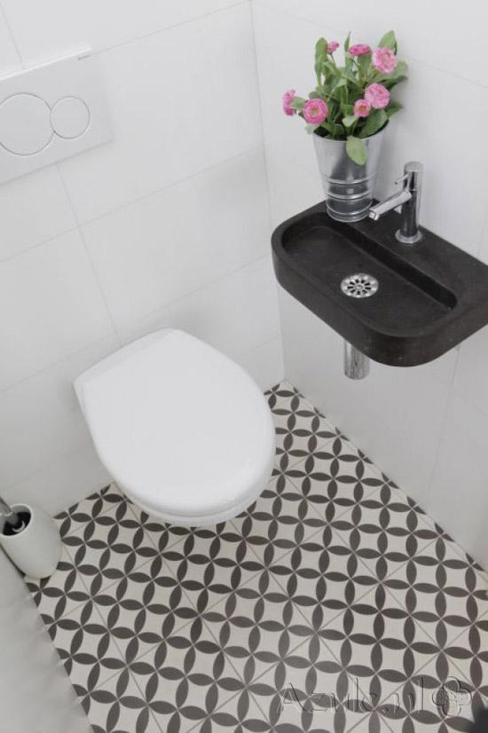 Portugese tegels voor toilet wooninspiratie - Deco van wc ...