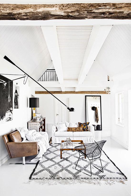 Prachtig huis van een interieur stylist wooninspiratie - Interieur van amerikaans huis ...