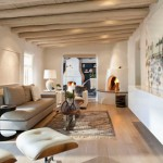 Prachtige woonkamer met Santa Fe sfeer