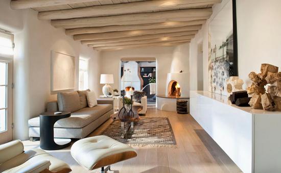 Prachtige woonkamer met Santa Fe sfeer | Wooninspiratie