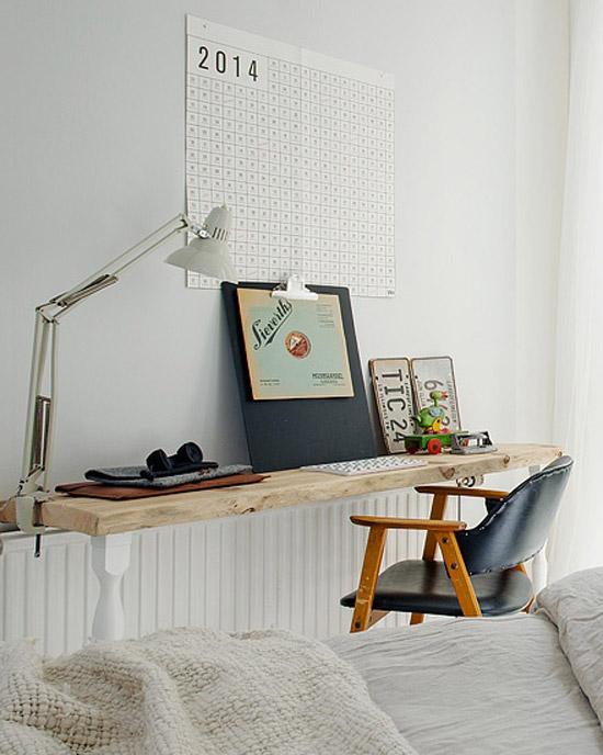 Schattig klein Scandinavische appartement