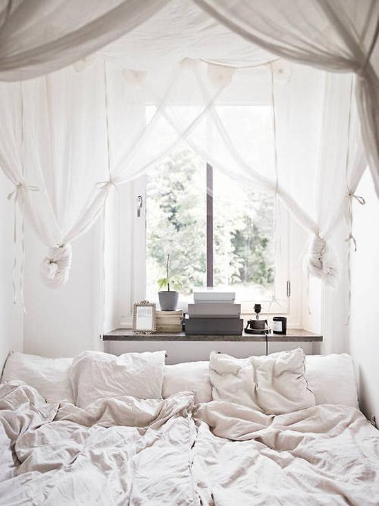 Slaapkamer met romantische sfeer | Wooninspiratie