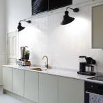 Sobere minimalistische keuken
