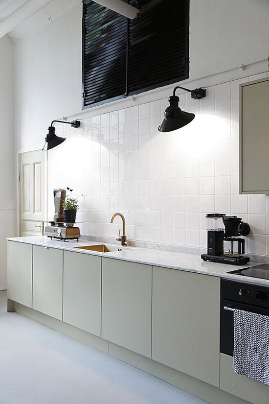 Genoeg Sobere minimalistische keuken   Wooninspiratie KL89
