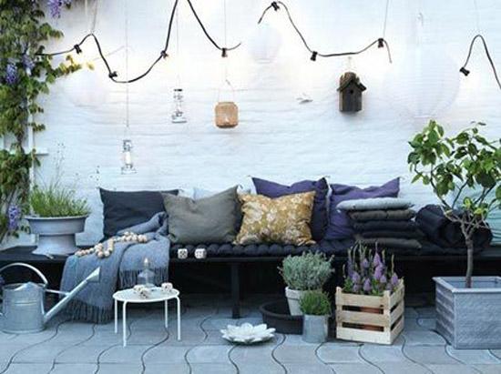Tuin gezellig maken wooninspiratie - Deco gezellige lounge ...