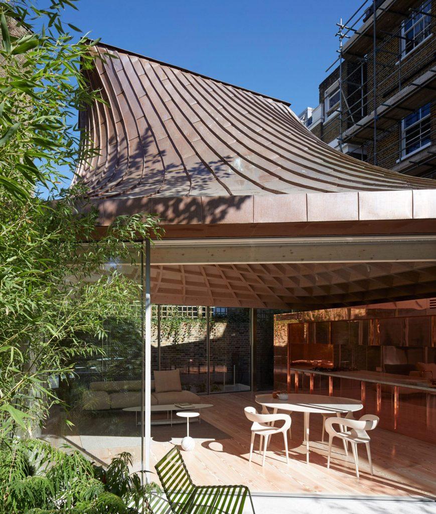 Tuin luifel Architectonische luifel