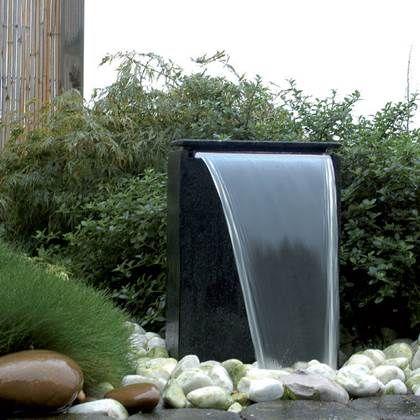 Voortuin ideeën Water in de voortuin fontein