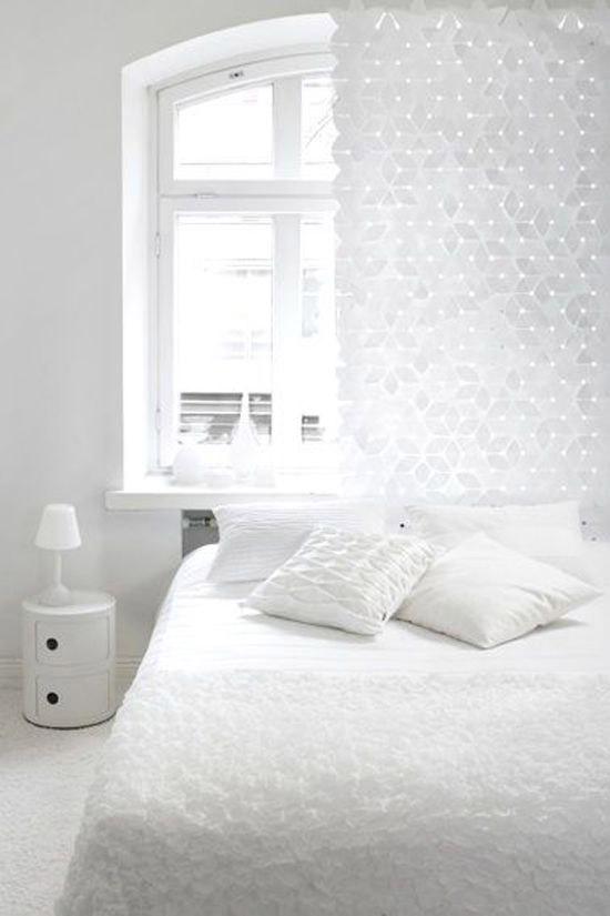 Witte slaapkamer