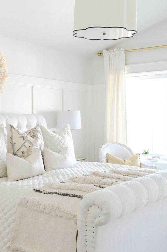 witte slaapkamer | wooninspiratie, Deco ideeën