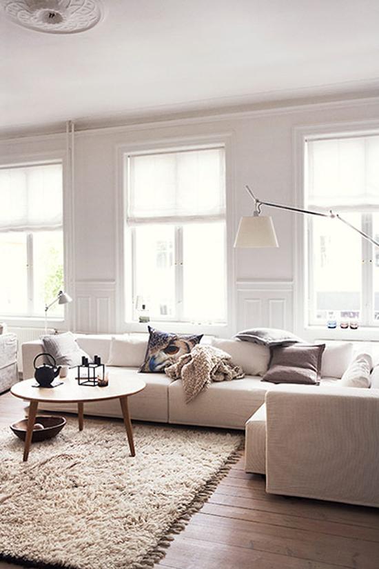 Woonkamer met invloeden van de natuur wooninspiratie for Huiskamer design