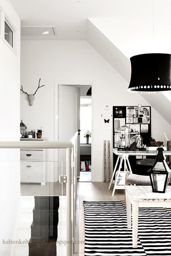 Zwart Witte Interieur Wooninspiratie