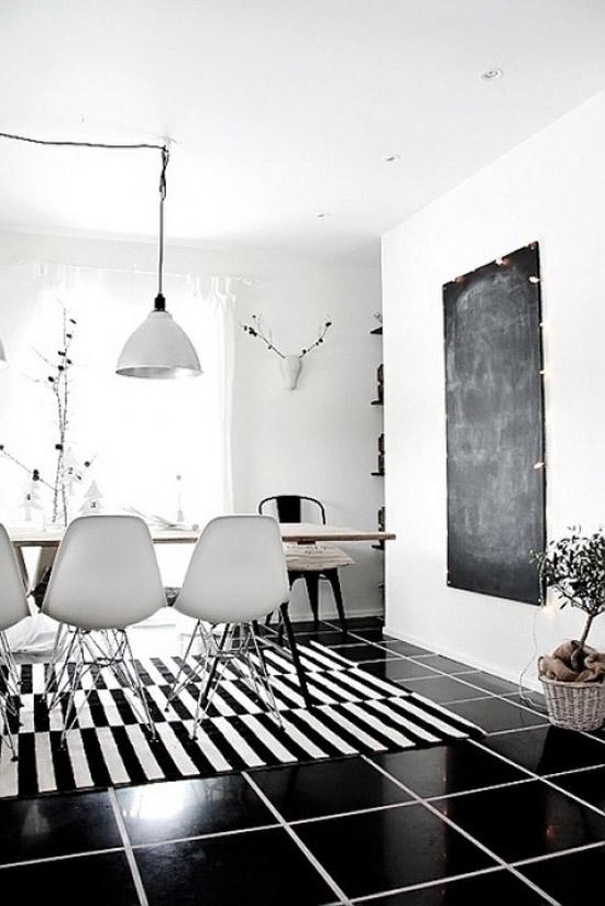 zwart witte interieur | wooninspiratie, Deco ideeën