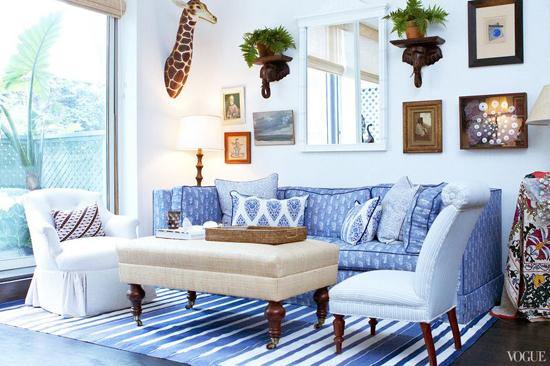 New Yorkse appartement van Rebecca de Ravenel
