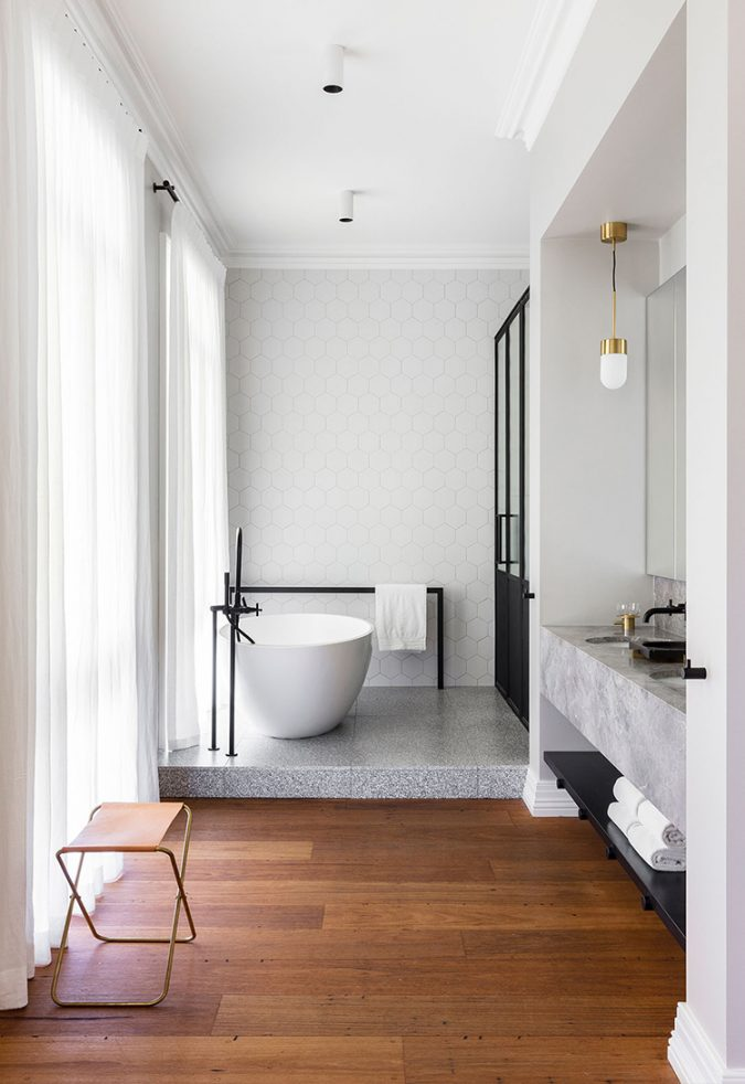 badkamer ensuite verhoging