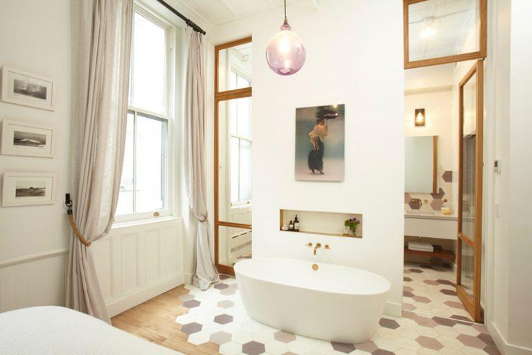 badkamer ensuite open mini spa