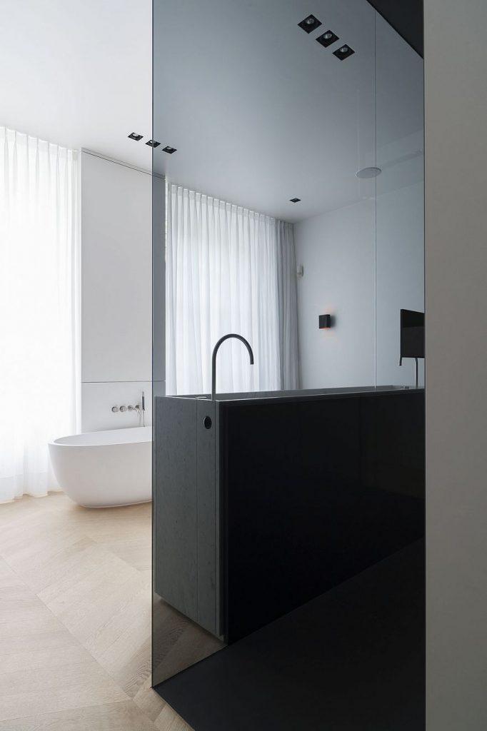badkamer ensuite oplopend