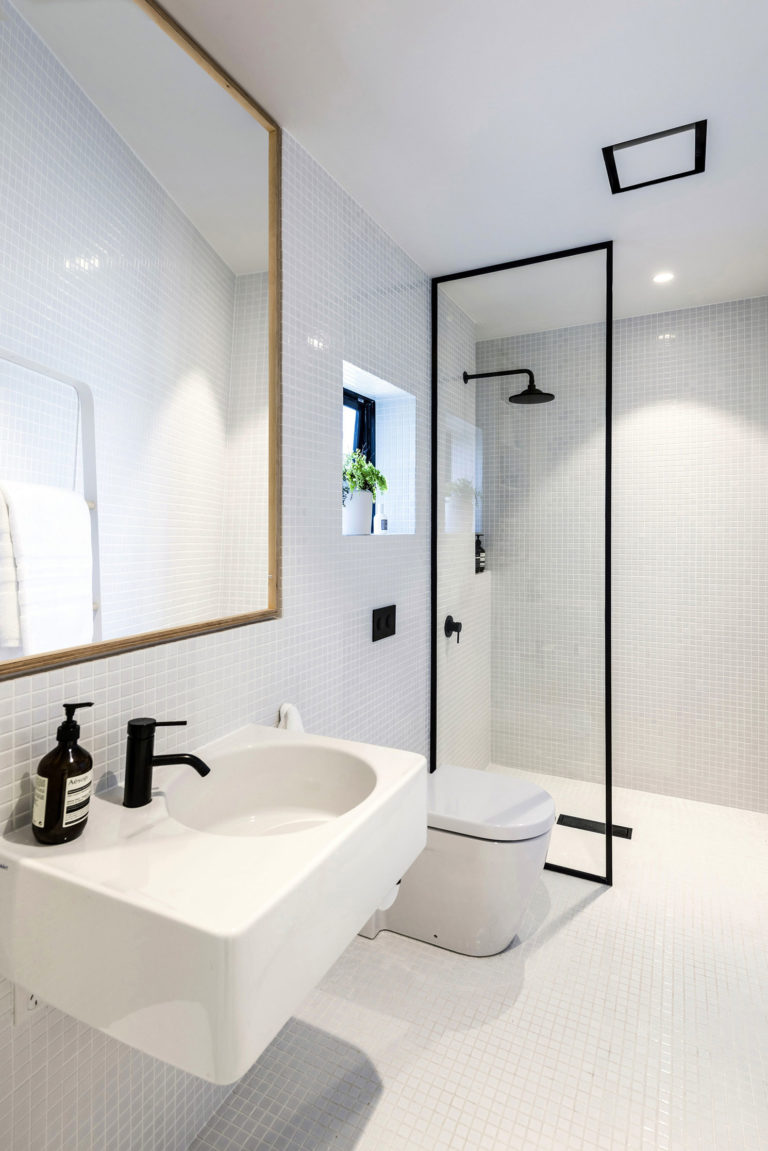 badkamer mechanische ventilatie
