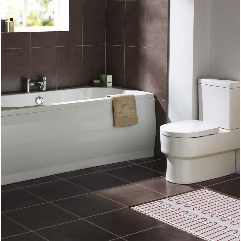 badkamer verwarmen vloerverwarming