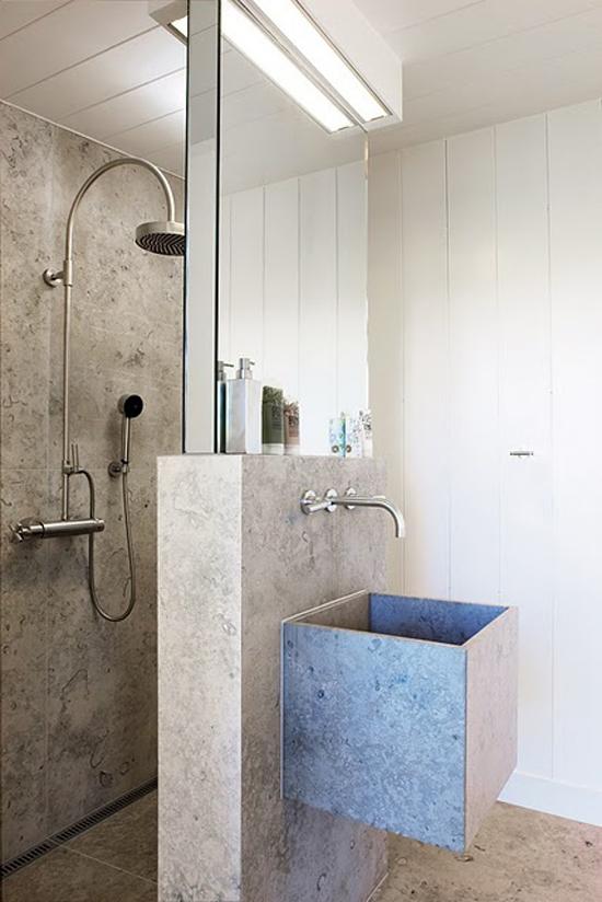 Badkamer Wasbak Opbouw ~   Cottage badkamers voorbeelden en inrichting ideen voor de badkamer