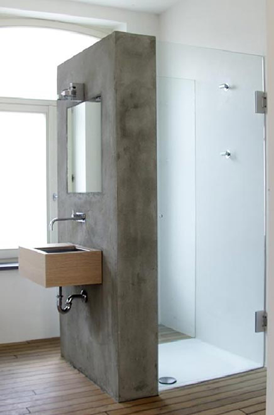donkere badkamers vergen meer aandacht